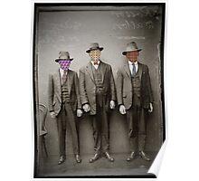Three Criminals Arrested Poster