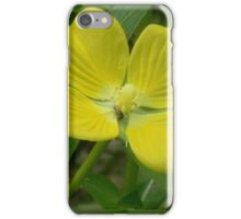 Narrow-Leaf Water Primrose, Mexican Primrose-Willow iPhone Case/Skin