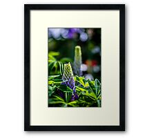 Flower Towers Framed Print