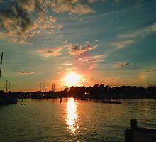 New England Waters by Bluejayarts