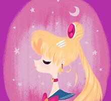 Sailor Moon by Claire Belyea