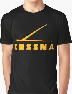 Cessna Vintage Aircraft Graphic T-Shirt