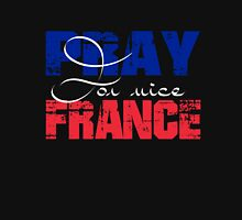 Pray For France Unisex T-Shirt