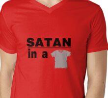 Satan in a V Neck Mens V-Neck T-Shirt