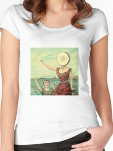 Aeroplane Over the Sea Women's Fitted Scoop T-Shirt