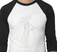 jessamine with her parasol Men's Baseball ¾ T-Shirt