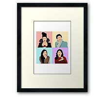 Regina Mills 4 in 1 Framed Print