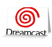SEGA DREAMCAST Logo Greeting Card