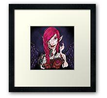 Steampunk Vampire Framed Print