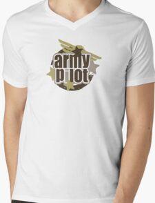 Army Pilot Mens V-Neck T-Shirt