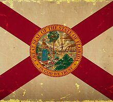 Florida State Flag VINTAGE by Carolina Swagger