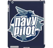 Navy Pilot iPad Case/Skin