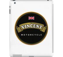 Vincent Vintage Motorcycles England iPad Case/Skin