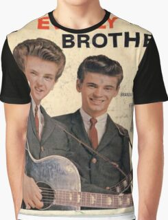 The Everly Brothers 1958 Rockabilly ep cover Graphic T-Shirt