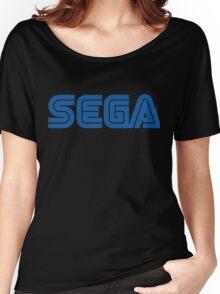 SEGA classic video games logo Women's Relaxed Fit T-Shirt