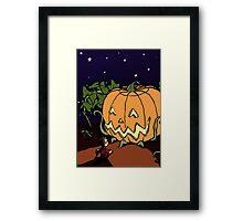 It's the Great Pumpkin! Framed Print