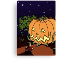 It's the Great Pumpkin! Canvas Print
