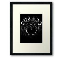 Dan Smith Inkblot Framed Print