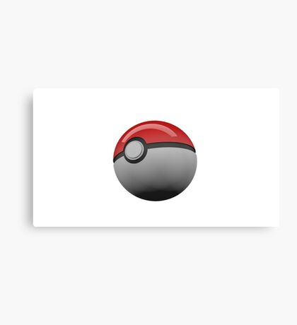 Pokemon Ball/pokeball Canvas Print
