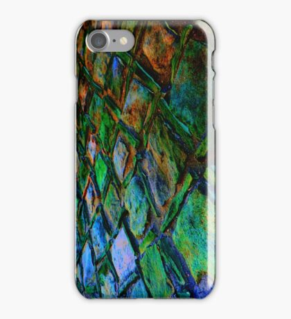 Square Stones Pathway Number 32 Sideways iPhone Case/Skin