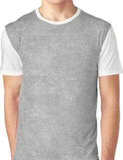 Silver Oil Pastel Color Accent Graphic T-Shirt