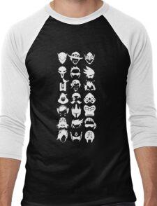 Heros - Black Men's Baseball ¾ T-Shirt