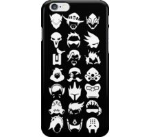 Heros - Black iPhone Case/Skin