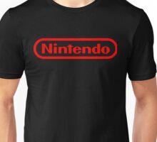 Nintendo NES logo Classic Video Games Unisex T-Shirt