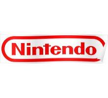Nintendo NES logo Classic Video Games Poster