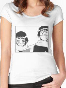 Nisekoi Manga Panel  Women's Fitted Scoop T-Shirt
