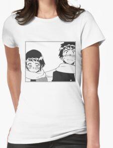 Nisekoi Manga Panel  Womens Fitted T-Shirt