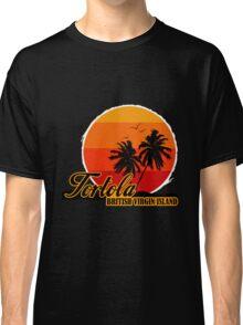 Sunset Tortola Beach Classic T-Shirt