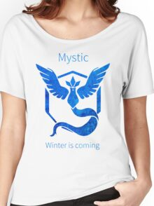 Pokemon GO - Winter Is Coming Women's Relaxed Fit T-Shirt