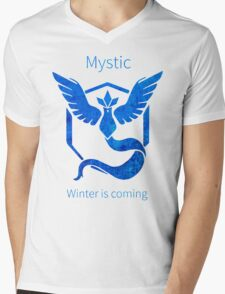 Pokemon GO - Winter Is Coming Mens V-Neck T-Shirt