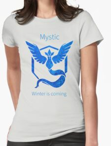 Pokemon GO - Winter Is Coming Womens Fitted T-Shirt