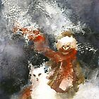 A friend in winter by Pauliina Hannuniemi