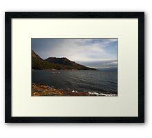 Honey Moon Bay Framed Print