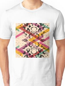 Colourful Snake Skin Texture Unisex T-Shirt
