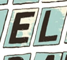 Paralelogram Sticker