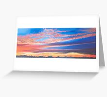 Yorkshire Sunset Greeting Card