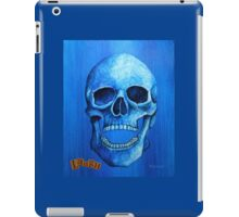 Blue Skull - Laugh iPad Case/Skin