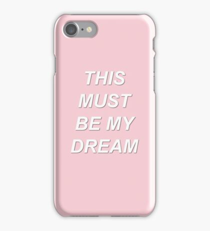 The 1975 - This Must Be My Dream iPhone Case/Skin