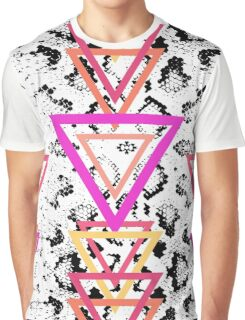 Snake Texture Graphic T-Shirt