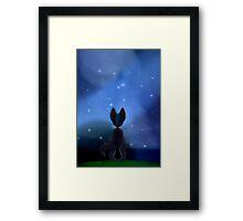 Up in the Stars Framed Print