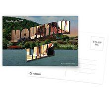 Mountain Lake, VA Vintage Post Card Postcards