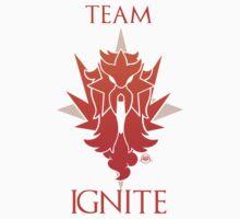 Team Ignite - Black Kids Tee
