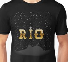 The Face of Rio - Silhouette Unisex T-Shirt