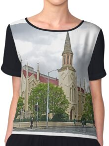 Storm over St Andrews Chiffon Top