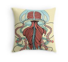 Space Jellyfish (Dr Seuss Inspired) Throw Pillow