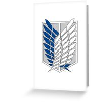SNK Recon Corps Pixels Greeting Card